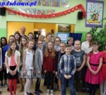 Spotkanie z poezją w Szkole Podstawowej w Lubawie