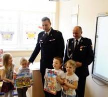 Strażacy odwiedzili przedszkolaków