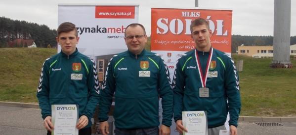 Kacper Łuczak srebrnym medalistą Ogólnopolskiej Olimpiady Młodzieży