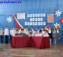 Apel z okazji Dnia Flagi Rzeczypospolitej Polskiej oraz Rocznicy Uchwalenia Konstytucji 3 Maja w Szkole Podstawowej im. Mikołaja Kopernika w Lubawie
