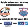 Mecz barażowy o Futsal Ekstraklasę – na żywo w TVP