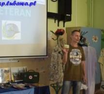 Spotkanie z weteranem w Szkole Podstawowej w Lubawie