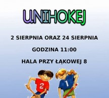 Turniej unihokeja dla dzieci