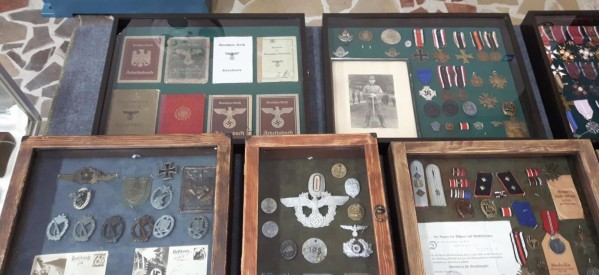 Wystawa militariów