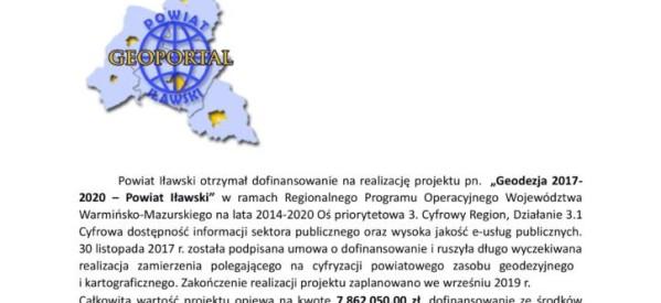 Geoportal dla Powiatu Iławskiego