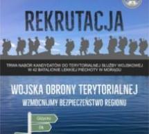 Punkt informacyjny Wojsk Obrony Terytorialnej