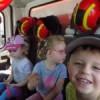 Dzieci ze Żłobka Miejskiego w OSP Lubawa