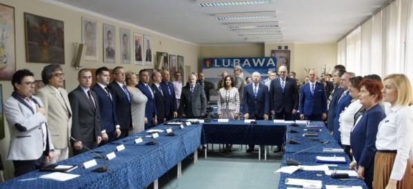 Pierwsza sesja Rady Miasta Lubawa VIII kadencji