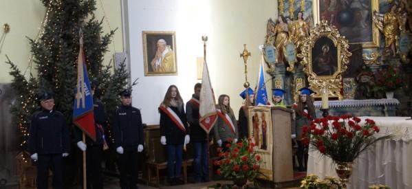 Msza z okazji 99. rocznicy wyzwolenia Lubawy