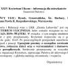 Informacja Kryterium Kolarskie