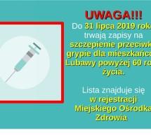 Szczepienia przeciwko grypie – komunikat