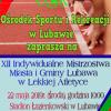 XII Indywidualne Mistrzostwa Miasta i Gminy Lubawa w Lekkiej Atletyce