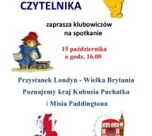 Angielska podróż książkowa