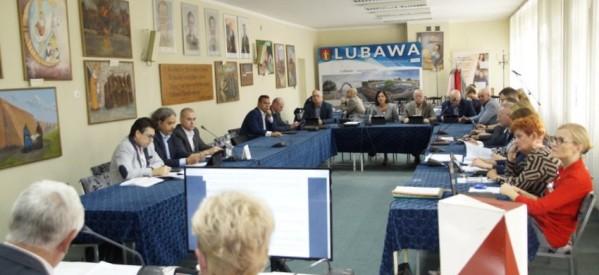 IX zwyczajna sesja Rady Miasta Lubawa