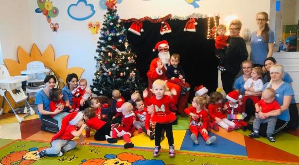 Mikołaj w Akademii Maluszka