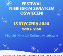 Festiwal Niebieskim Światłem Oświeceni
