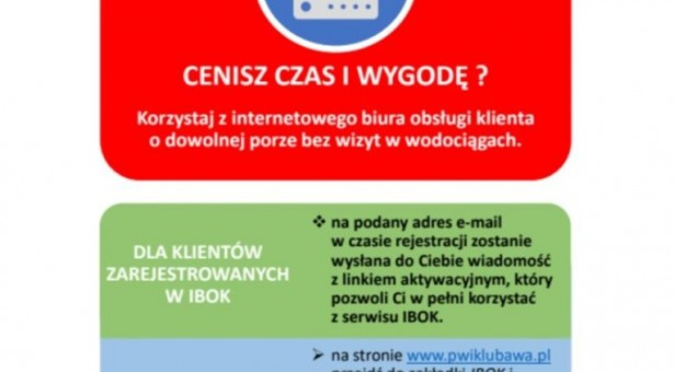 Korzystaj z elektronicznych usług PWiK w Lubawie