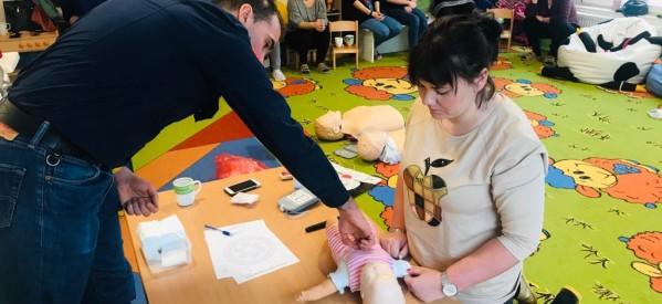 Szkolenie z pierwszej pomocy dla pracowników Żłobka Miejskiego