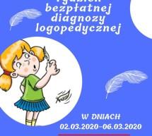 Tydzień bezpłatnej diagnozy logopedycznej w Przedszkolu Miejskim