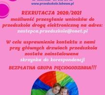 Rekrutacja do Przedszkola Miejskiego