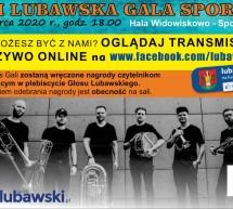 Lubawska Gala Sportu – transmisja online
