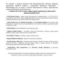 Informacja o funkcjonowaniu lubawskich jednostek publicznych