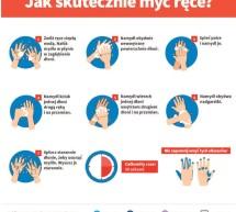 Jak skutecznie myć ręce? Informacja Głównego Inspektora Saniternego