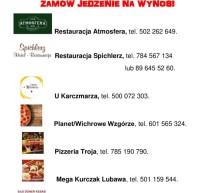 Tu możesz zamówić jedzenie na wynos!