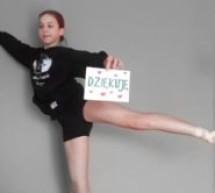 Tak wyglądają zdalne zajęcia baletowe