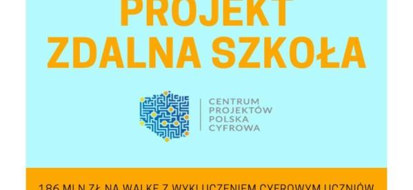 "Projekt – ""Zdalna Szkoła"""