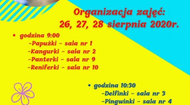 Dni adaptacyjne w Przedszkolu Miejskim w Lubawie