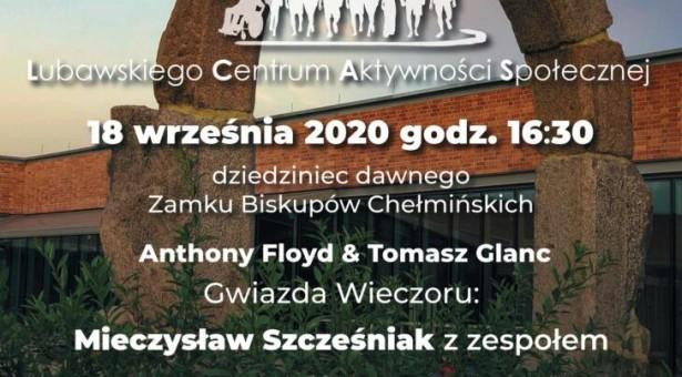 Koncert z okazji otwarcia Lubawskiego Centrum Aktywności Społecznej