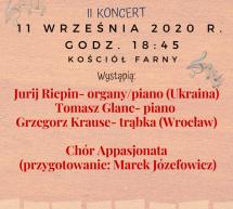 II koncert w ramach VI Międzynarodowego Festiwalu Muzycznego.