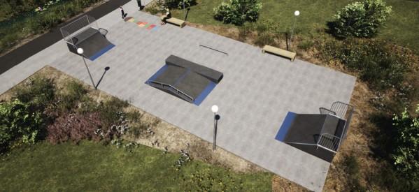 Skatepark w Lubawie
