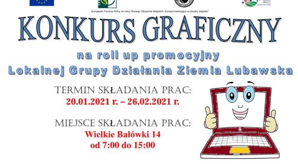 Konkurs graficzny na roll up – LGD Ziemia Lubawska