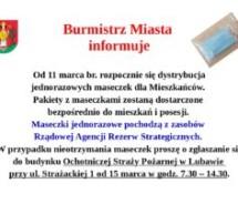 Burmistrz Miasta informuje