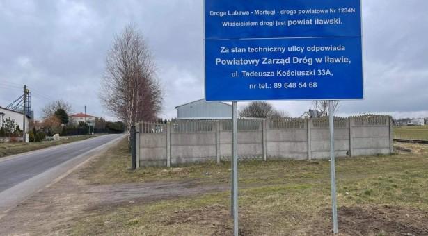 Drogi powiatowe w Lubawie