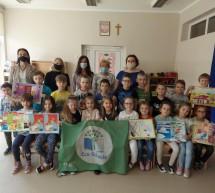 """Certyfikat """"Zielonej Flagi"""" dla Przedszkola Miejskiego w Lubawie"""