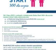 Dobry Start 300+ dla ucznia