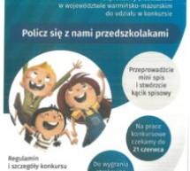 Narodowy Spis Powszechny- konkurs dla przedszkoli
