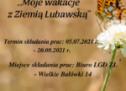 """""""Moje wakacje z Ziemią Lubawską"""" – konkurs fotograficzny"""