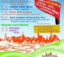 Zapraszamy na Pierwszą Niedzielę Cittaslow w Lubawie!!!