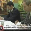 Podpisanie umowy o współpracę między szkołami