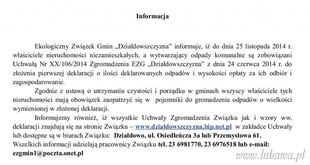 info działdowszczyzna