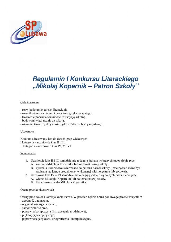 I Konkurs Literacki Patron Szkoły-21