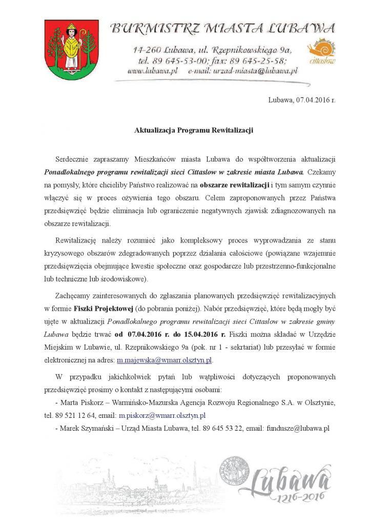 pismo ws. aktualizacji1