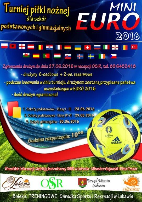 plakator miniEURO 2016