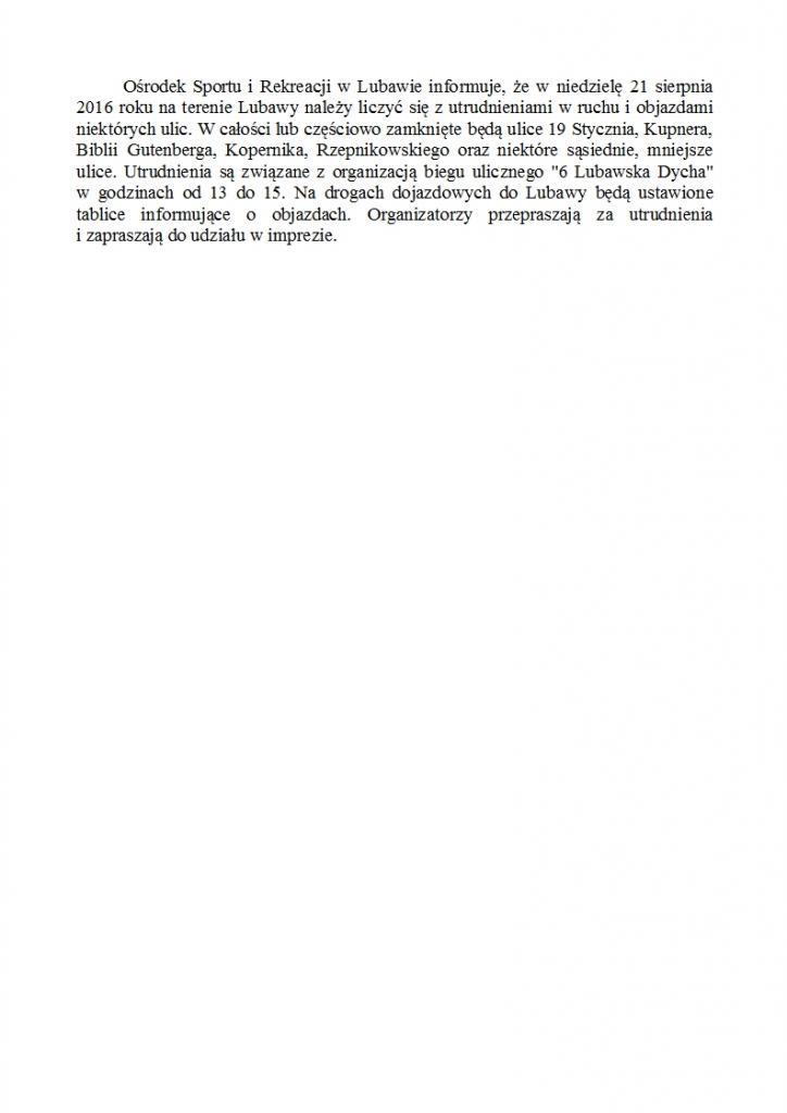 informacja-6 Lubawska Dycha