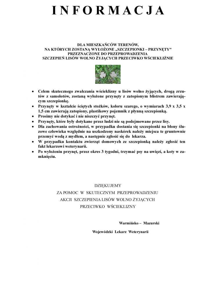 szczepienia lisów - jesień 2016 komunikaty-22